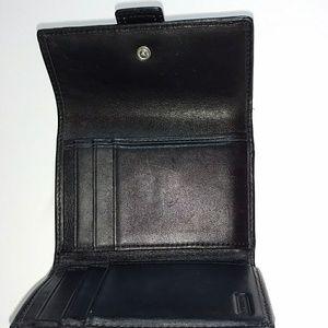Coach Bags - COACH SMALL SIGNATURE TRI-FOLD WALLET